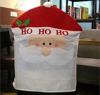 banquet kitchen - new Santa Claus Christmas Kitchen Chair Covers dinner chairs covers Banquet Chair covers