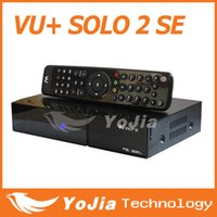 Cheap VU+ SOLO 2 SE Satellite Receiver with HD DVB-S2 Twin Tuner Linux OS 1300MHz CPU Mini Vu solo2 SE