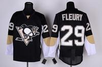 Ice Hockey andre for men - Cheap Penguins Marc Andre Fleury Uniform Black Jerseys Winter Ice Hockey Jerseys Stitched Hockey Jersey for Men American Hockey Wears