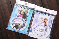 Wholesale Retail pc Frozen Theme Printing Calendar Anna Elsa Wall Calendar