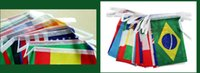 bar banners - the countries national flag hanging festival chain flag cm World Banner Bunting bar party decoration