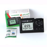 Wholesale AL HARMEEN ISLAMIC AZAN DIGITAL TABLE CLOCK HA MUSLIM PRAY TIMES ADHAN