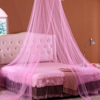 Children 1.5m (5 feet) bed Circular Crazycity Baby Mosquito Net Netting Child Toddler Bed Bedroom Crib Canopy Netting 2 Colors For Choose Free Shipping