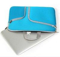 china wholesale handbags - Fashion Laptop Protective Case Zipper Sleeve Bag For Macbook Air Pro Retina inch Handbag Travelling Bags Dual Pocket