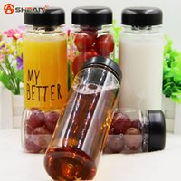 Wholesale My Bottle E Juice Bottles Sport My Better Bottle Fashion Sport Lemon Juice Circle Clear Cup Water Bottles