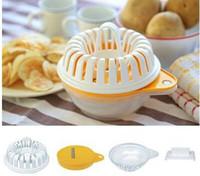 Wholesale Vegetable Fruit Potato Crisp Chip Slicer Microwave Chips Snack Maker Tray DHL