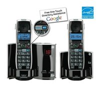cordless phone - GE Dect Digital Cordless Phone Answering System Telephone Featuring GOOG Home Phone