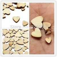 craft embellishments - 4 Style Mix Love Heart Wooden Embellishments Craft Card making Scrapbooking