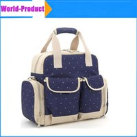 Wholesale Orgrimmar Tote Bags Oxford Messenger Baby Diaper with Multifunction Larger Capacity Mummy Handbag Backpack Baby Nappy Bag DHL
