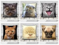 best cat house - Hot Sale D Print Animal Cat Pattern Pillowcase For New House Seat Pillowcase Best Quality