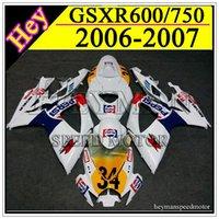 pepsi - ABS Fairing for SUzuki GSXR GSX R PEPSI white fairings