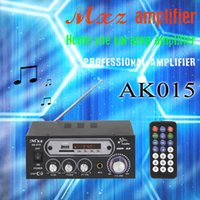 Wholesale High power household karaoke system support microphone usb sd fm radio mxz amplifier