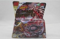 Wholesale Metal Fusion Fight Masters D Beyblade Spinning Tops With Launcher Rapidity D L Drago GOLD and Destroy Mixed Styles