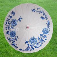 assorted framing - 2016 Paper Parasols Wedding Parasol Bridal Accessories radius cm assorted colors Bamboo frame Chinese silk parasol handmade craft umbrella