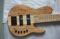 Wholesale Fodera string bass active bass neck through top quality maple neck