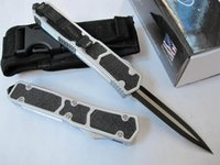 knife knives lot - Micro tech Double Action troodon combat knife Tactical survival knives with nylon sheath original box
