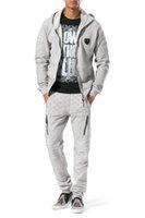 brand velour tracksuits - 2016 winter mens hoodies hoody tracksuits man luxury thick cotton sweatshirts sport suit men brand autumn sweatsuit tops