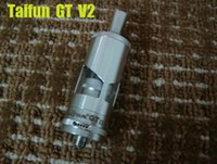 Cheap Taifun GT 2 RBA Taifun GT V2 RBA Rebuildable taifun gt2 clone for E-cigarette Mods Stainless Steel RBA Taifun GT V2 VS Kayfun V4 N22 DHL