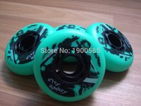 Wholesale skating speed skating wheels roller wheels skate flat flower wheels mm mm mm A