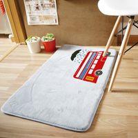 autumn doormat - 10pcs carpets rugs new autumn and winter Korea home coral velvet mats doormat mat mixed batch