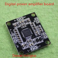 Wholesale PAM8610 Digital power amplifier board x15w double track micro stereo power amplifier board
