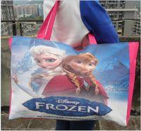 Wholesale AAA quality color fashion frozen anna elsa shoulder bag mummy bag Tote Handbag waterproof backpack Baby Diaper Nappy Bag topB1355