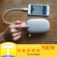 Fuente de alimentación móvil 10400 mah Doble salida y de alta capacidad de energía móvil de alimentación portátil banco de la energía libre de DHL