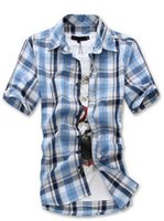 asia candy - men s casual shirts short sleeve shirt candy color dress shirt Boutique all match Mens Asia