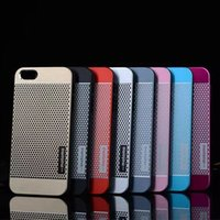 best cell phone case - New Motomo Metal PC Dot Cell Phone Case Cover For Apple iPhone S S Plus iphone4 iphone5 Best Rugged Cases
