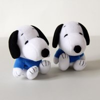 Wholesale 8cm Snoopy Plush Toy Snoopy Finger Puppets Cute Play Storytime Toys For Children