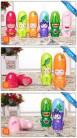 Wholesale Hot New Fashion Cartoon fruit Mini fan with Rope Portable battery Summer Electric Cool Mini Fan children fans Creative toys Retail Packaging
