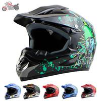 Wholesale New Motorcycle Helmets Cascos Motocross Off Road Capacete Moto Helmet Motorcycle Jet Motocross colors M L XL