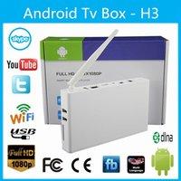 Wholesale promtion Smart mini pc Android TV box H3 dual core MB GB WiFi HD P HDMI Internet TV Box wifi
