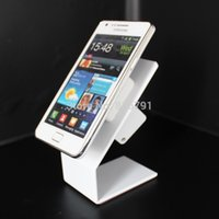 Wholesale 10pcs Mobile phone security display stand for cell phone retail store pull box with Aluminum anti theft stand