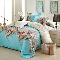 Wholesale Home Textile bedding cotton quilt cover comforter cover Flower Printed Home bedding duvet cover