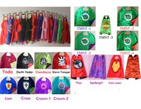 Wholesale superhero capes for kids birthday party favor