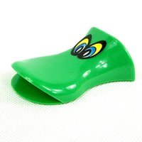 Wholesale quack toy whistle plastic duck whistle with eyes promotion gifts for kids Z00519