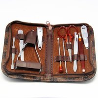 Wholesale Buy two get one nail clippers manicure sets manicure scissors tool sets of pliers