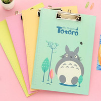 Wholesale Cute My Neighbor Totoro Clipboard Writing Pad School Office Supply Gift Stationery