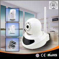 Wholesale Newest APP Control Wireless IP Camera Burglar Smart Wifi Security Home Alarm System with auto SMS alarm