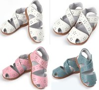 Wholesale 2015 summer hot style baby toddler shoes Soft bottom leather baby sandals Hollow snowflakes cute princess shoes year sale pair A3