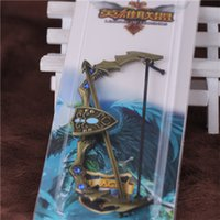 archer ring - League Of Legends LOL Ashe The Frost Archer Bow And Arrow Metal Pendant Key Ring Keychain