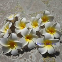 Wedding Display Flower plumeria 100pcs 5cm hawaiian 5colors real touch artificial plumeria flower diy hair accessory pe frangipani wedding party decoration