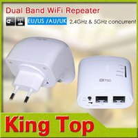 Wholesale New Original Mbs AC Dual Band Wireless Wifi Router Wi fi Repeater AC G Ghz Networking wps WI fi Antenna