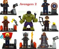 ag products - Best selling minifigures Upcoming Product Avengers Ag of Ultron Building Blocks Sets Model Bricks ch