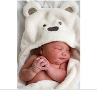 Wholesale Cute Animal Cartoon Brand New Born baby hooded bathrobe baby bathrobe baby bath towel baby blankets