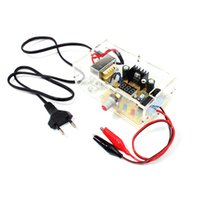 Wholesale LM317 V V Continuously Adjustable Regulated Voltage Power Supply DIY Kit EU US E0703