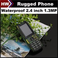 big screen cell phone - X6 Rugged Phone Waterproof Cell Phones inch Screen Dual SIM MP Camera Shockproof Dustproof Outdoor Mobile Phone Big D Sound FM Cheap