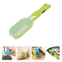 Wholesale Practical Fish Scaler Scale Scraper Clam Opener for Cleaning Scraping Fish Kitchen Gadgets Cooking Tools