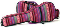 Wholesale 21 quot quot Ukulele Bag Ethnic Embroidery Fabrics Mini Guitar Soft Case Gig Bag Wholesales Wholesales